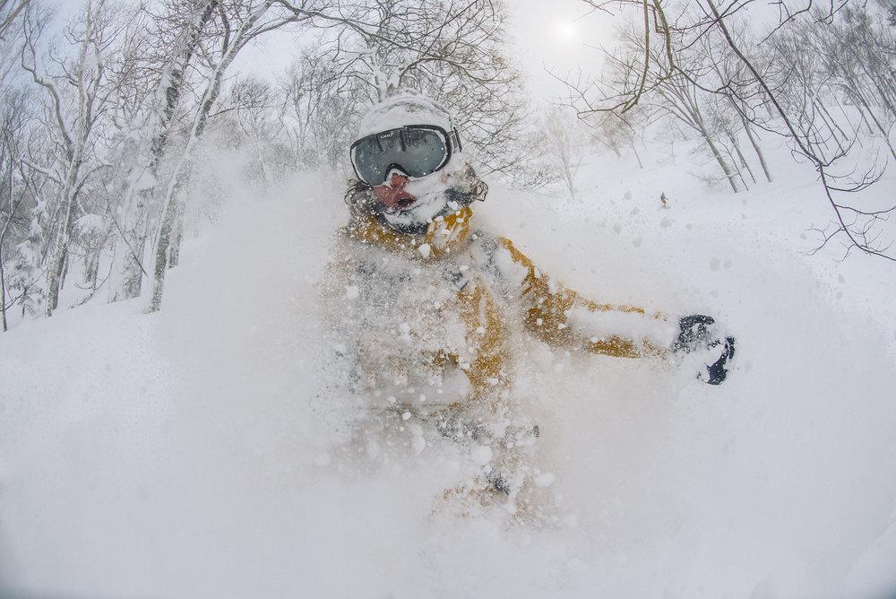 Kaitlyn Farrington. Hokkaido, Japan. Photographer: Tim Kemple.