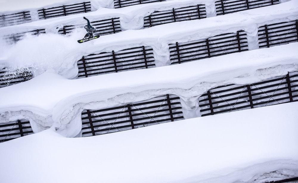 Blake Paul. Hokkaido, Japan.Photographer: Tim Kemple.
