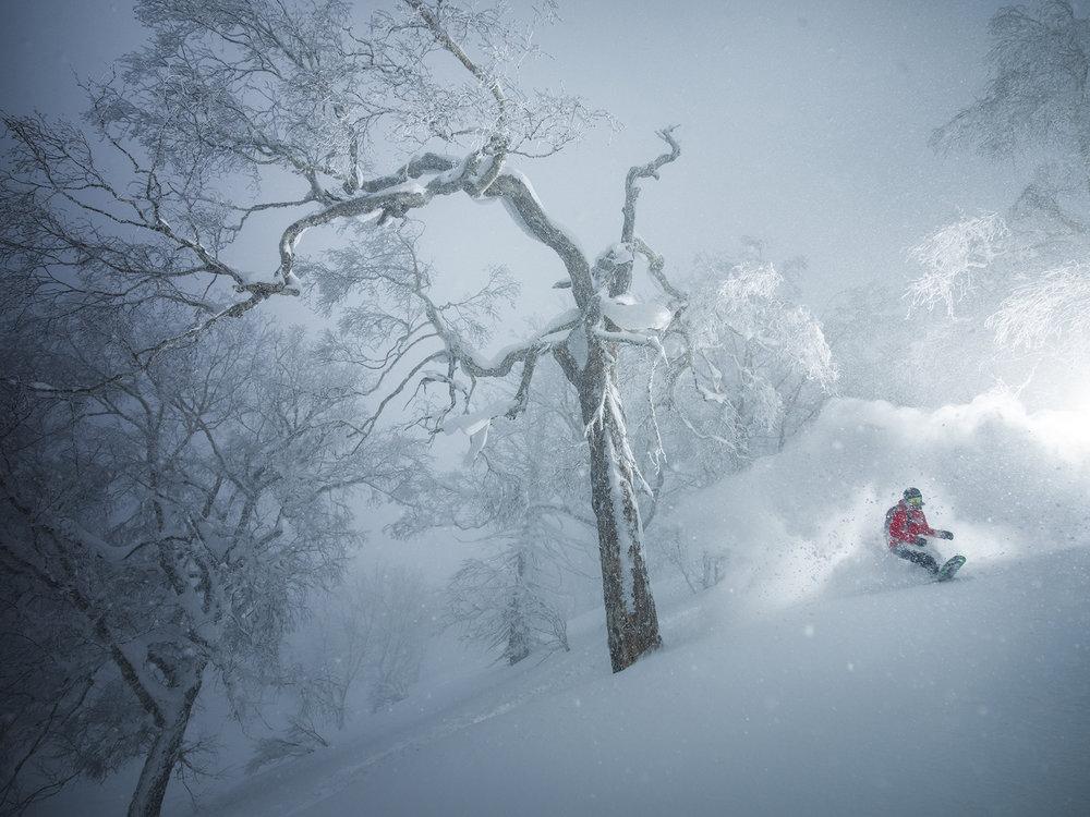 Kaitlyn Farrington. Hokkaido, Japan.Photographer: Tim Kemple.