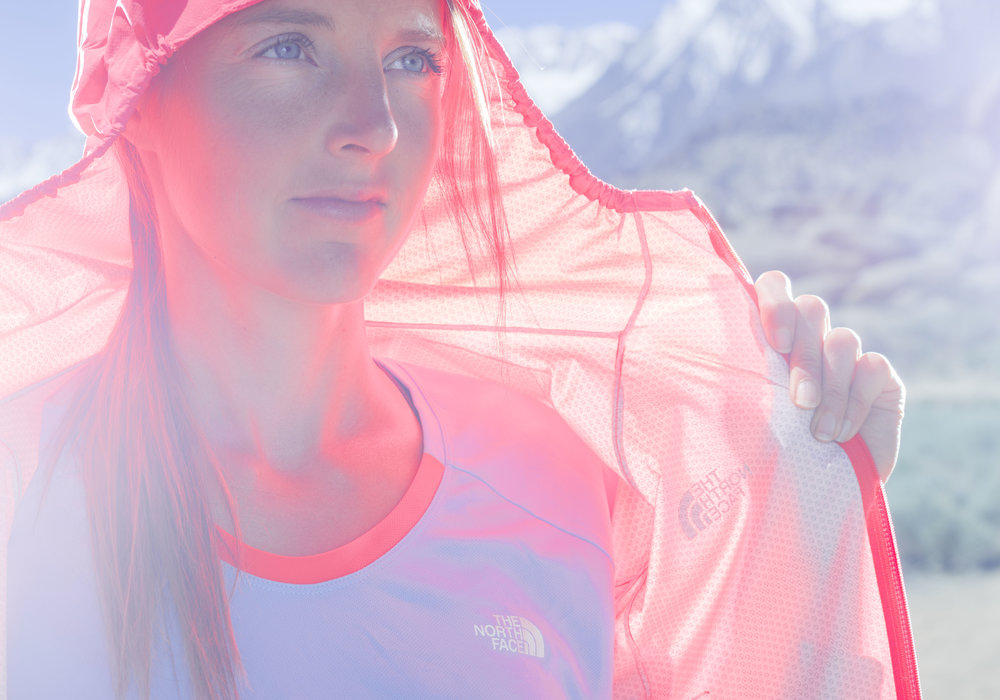 Stephanie Howe. Sierra Nevada, CA. Photography by Tim Kemple.