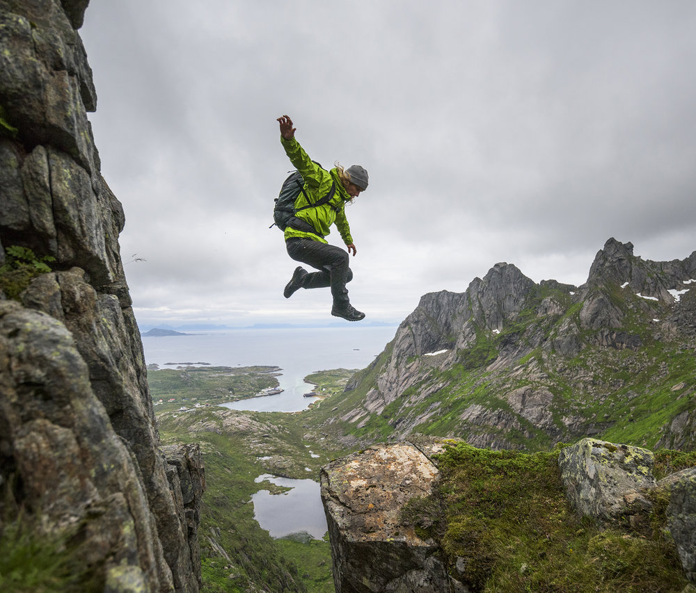 Johnny Collinson. Lofoten, Norway. Photography by Tim Kemple.