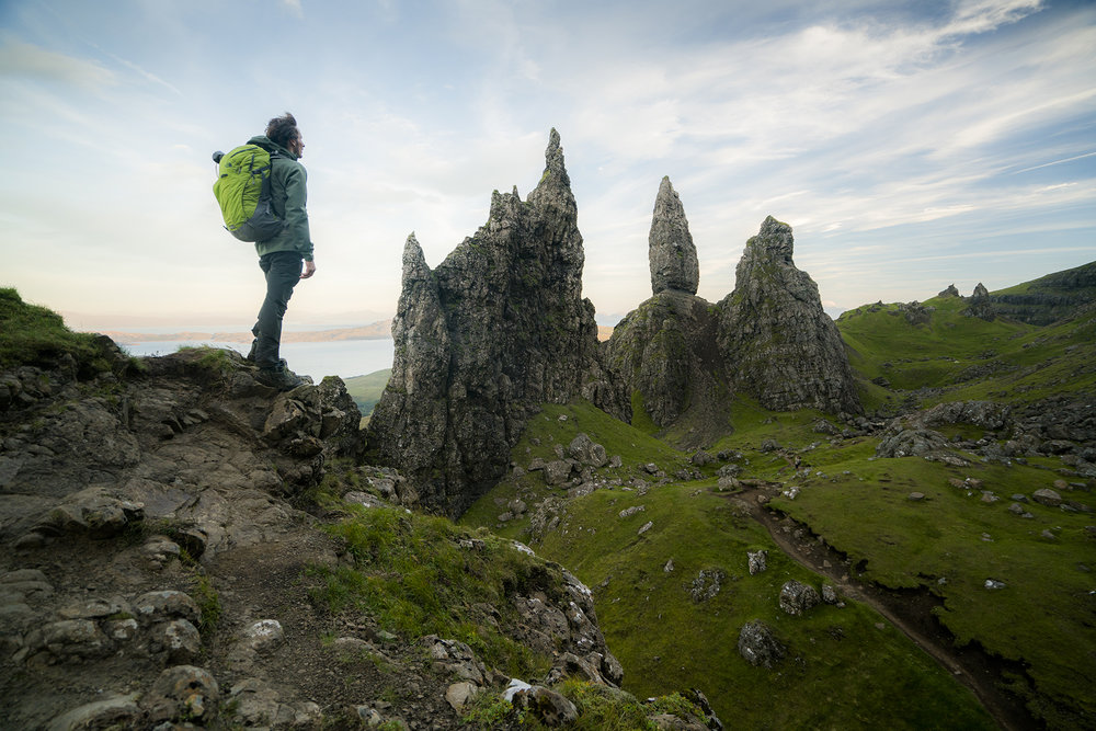 Daniel Woods. Isle Of Skye, Scotland. Photography by Chris Burkard.