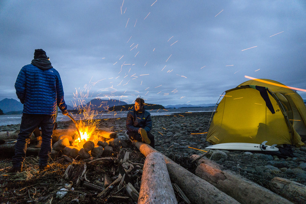 David Carrier Porcheron and Callum Pettit. Vancouver Island, British Columbia. Photography by Chris Burkard.