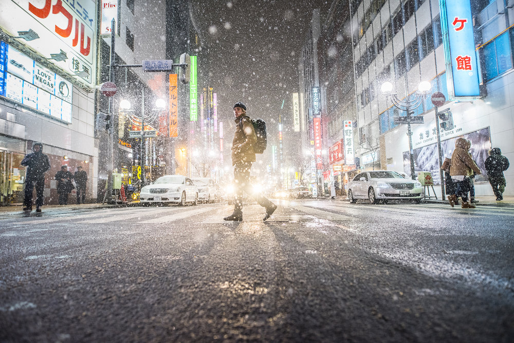 Blake Paul. Sapporo, Japan. Photography by Tim Kemple.