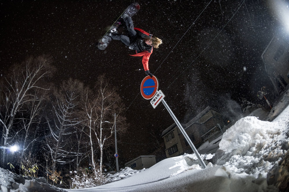 Blake Paul, Hokkaido, Japan. Photography by Tim Kemple.