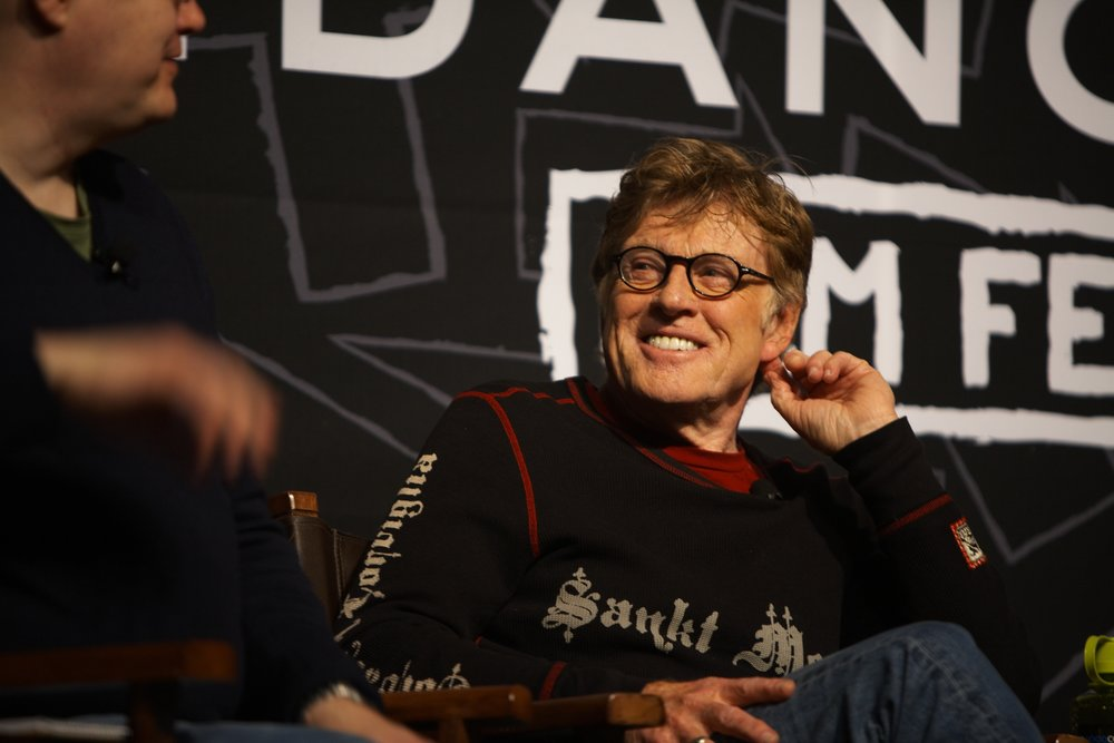 Robert Redford during the Sundance Film Festival, 2013.