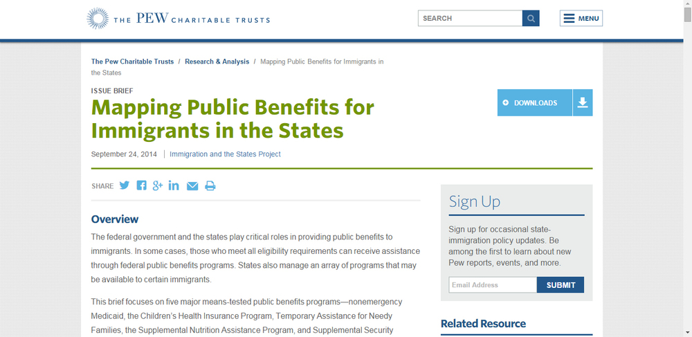 Mapping Public Benefits