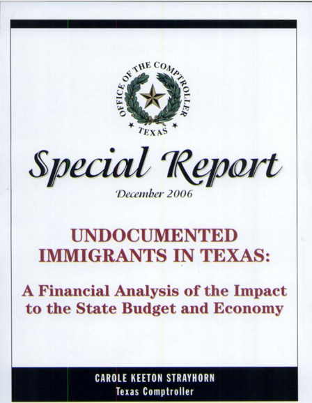 Undocumented Immigrants In Texas
