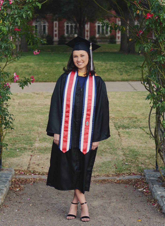 Ariel A. - Graduation shots