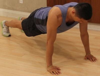 High Plank - Position 1