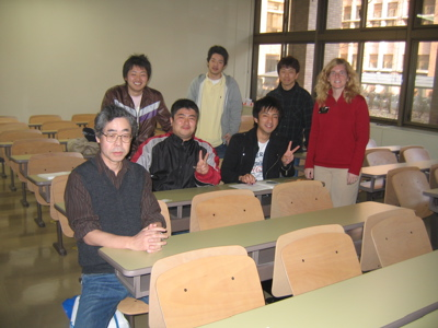 beth with class at iwate university.jpg