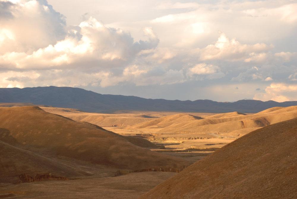 Gentle Rolling Hills