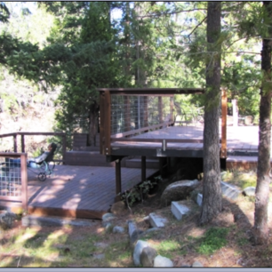 Photo Credit:  Flowing Waters Retreat at Mt. Shasta