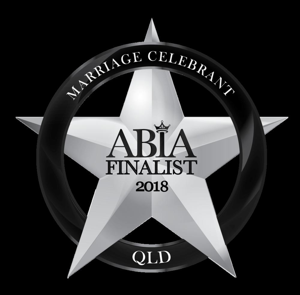 2018-QLD-ABIA-Award-Logo-Celebrant_FINALIST Michael Janz