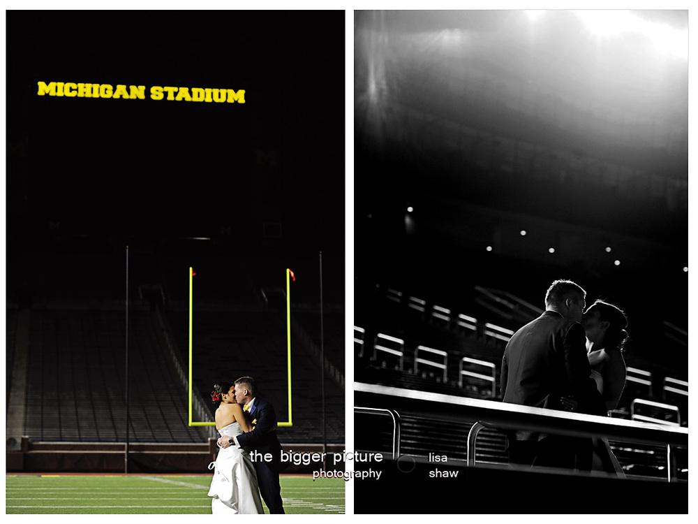 WEDDING PHOTO U OF M STADIUM.jpg