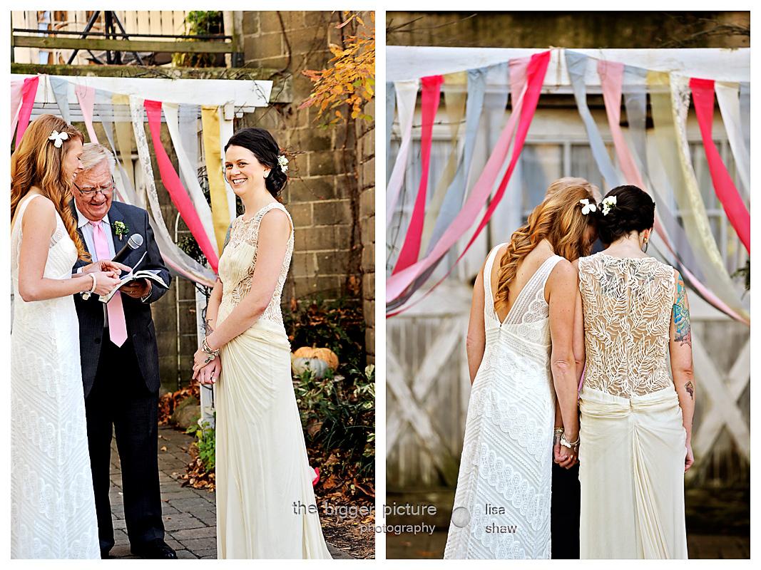 Lesbian Wedding Photographer In Grand Rapids Michigan