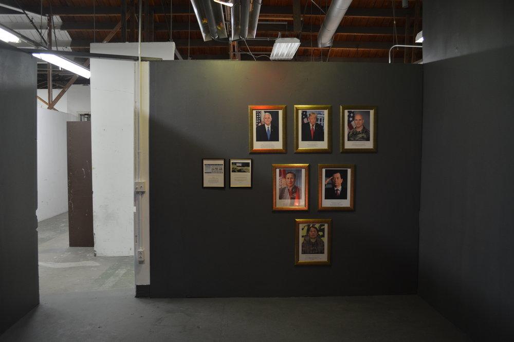 "Claim for Auto No, Me  (2017), Photo installation, 65"" x 71"" (5.41' x 5.91' / 165.1 x 180.34 cm)"