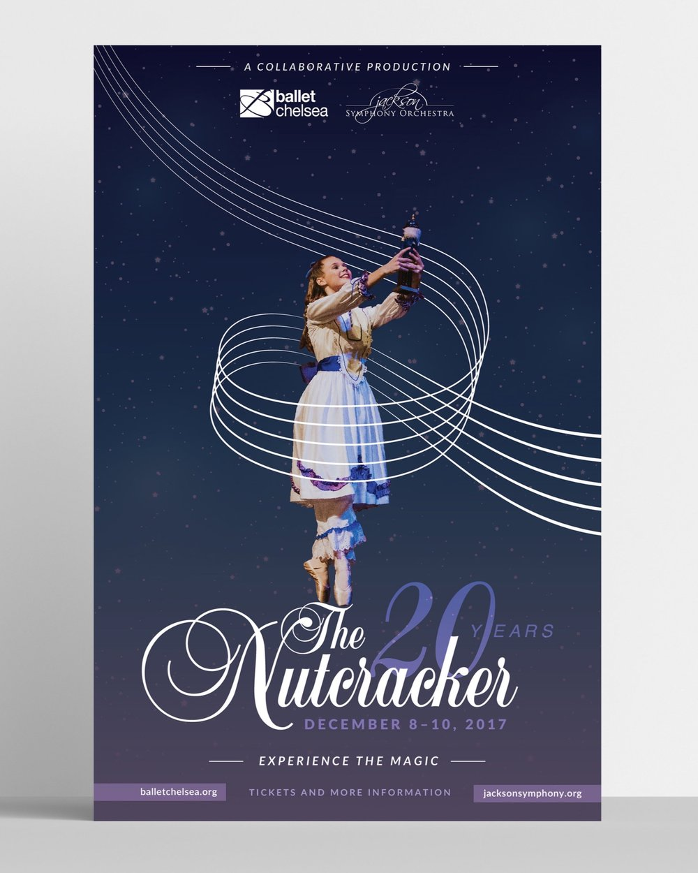 The Nutcracker's 20th Year // A Collaborative Production of Ballet Chelsea and the Jackson Symphony Orchestra