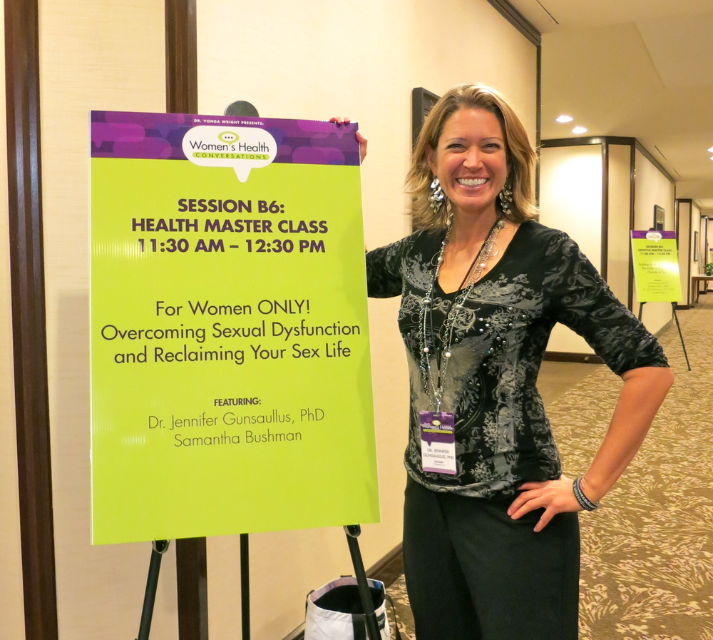 Overcoming Female Sexual Dysfunction at Women's Health Conference
