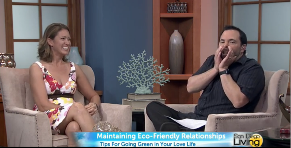 "The ""Sex Whisperer,"" Dr. Jenn Gunsaullus, talking about eco-friendly intimacy on San Diego Living."