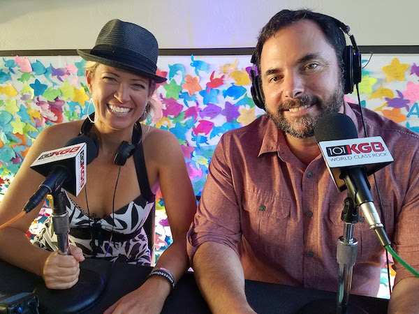 New sex podcast show in San Diego, with Dr. Jenn Gunsaullus and Clint August on I Heart Radio.