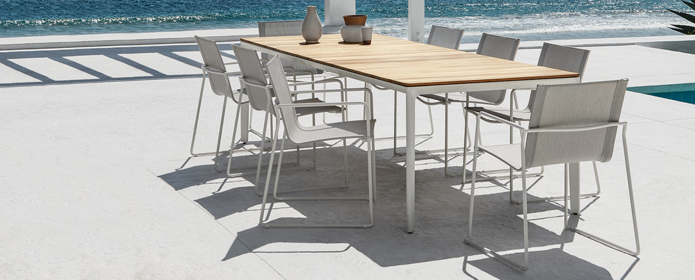 Patio Furniture from Gloster Asta Collection