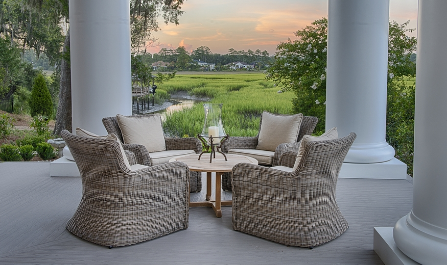 Patio Furniture by Kingsley Bate Sag Harbour collection