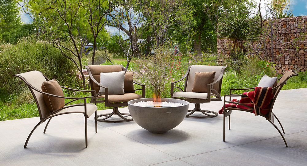 Brown Jordan Pasadena Patio Lounge Chairs