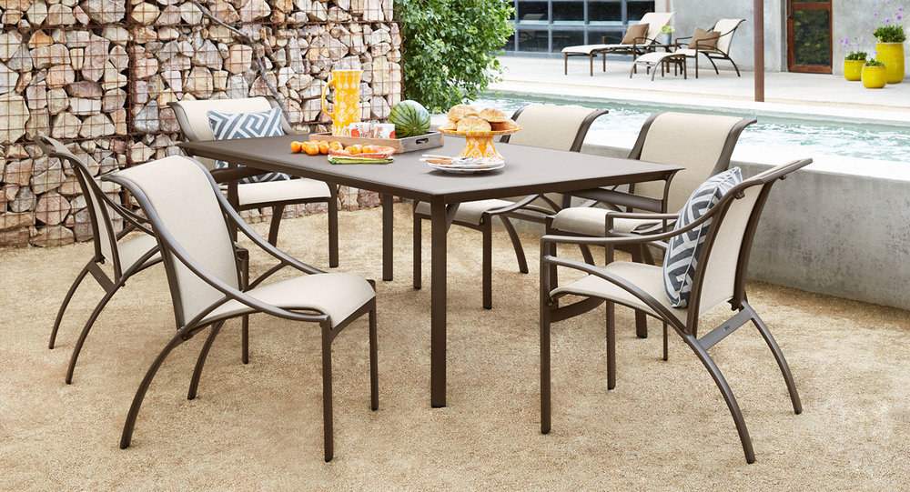 Brown Jordan Pasadena Patio Dining Collection