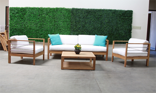 Hi Teak Summer Deep Seating Collection