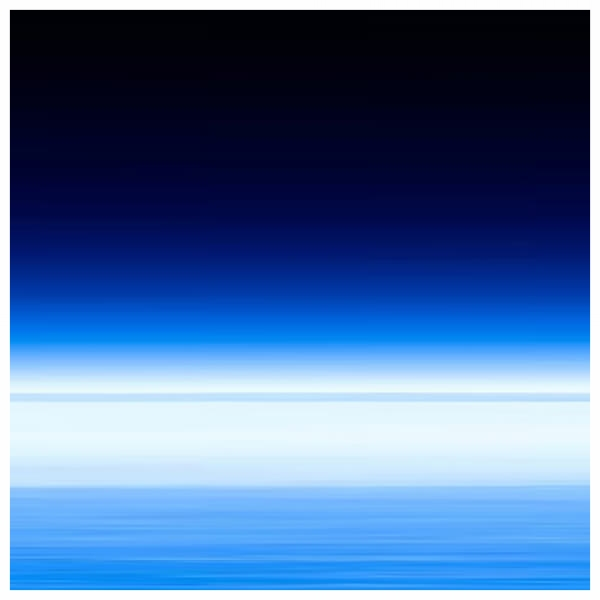 Atmosphere! (Space) - Fuji Crystal on Acrylic, White Box Framed 60x60cm ) | Price £450 Framed. Print run of 25 | Deep Blue. Royal Navy. Basalt