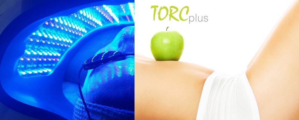 LED low light therapy combined with TORC Body Contouring is a win-win-win for your skin, face & body