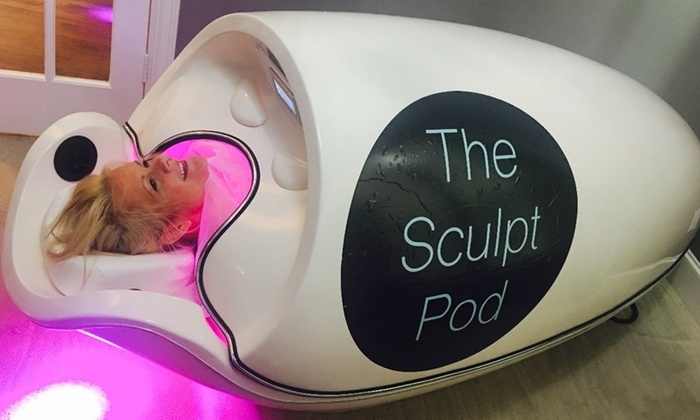 During a Sculpt Pod treatment, you will experience our 3 Step Patented Process.  Burn 500 calories in 15 mintues Infrared heat and light is used to stimulate the body's natural process for breaking down and releasing stored content in the fat cells. While inside the Sculpt Pod, you will experience whole body massage vibration to break down cellulite + stimulate the body to drain its fat cells naturally.  Infrared can assist with many wellness benefits; clients are experiencing pain relief, detoxification, weight loss & cellulite reduction, skin rejuvenation & relaxation + more.  When you use a far infrared saunas for varicose veins and spider vein treatment, the heat from the sauna effectively dilates the veins (which is why your skin appears red after exposure to heat) and can help move intravenous blood and circulate it throughout your body diminishing the appearance of the veins.