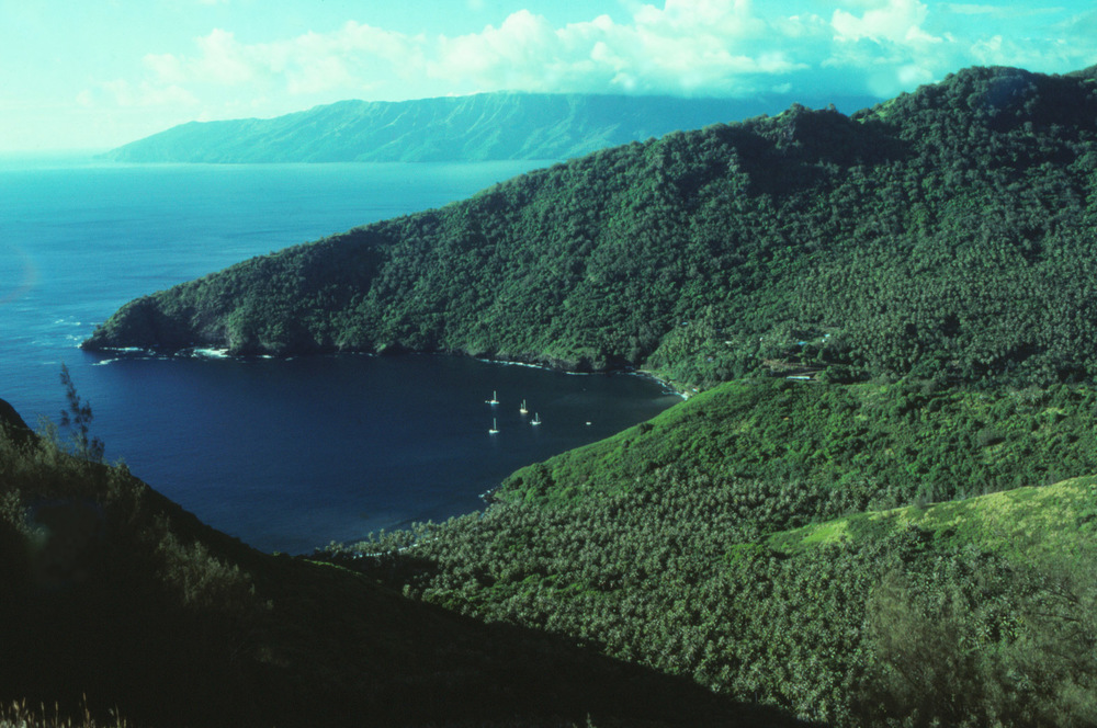 Tahuata, in the Marquesas Islands, is the location of our ongoing  project.