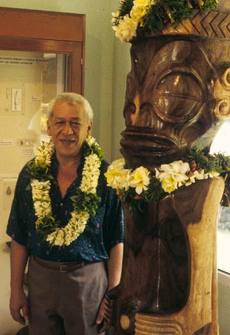 """Tehaumate """"Tetahi"""" Tetahiotupa. Cofounder of Te Ana Peua, former Mayor of Tahuata."""