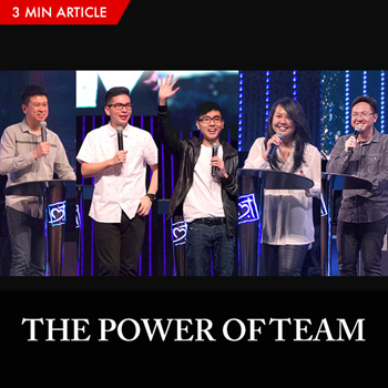 Power of Team