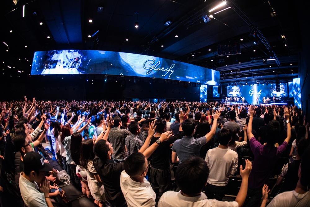 Worship in Heart of God Church