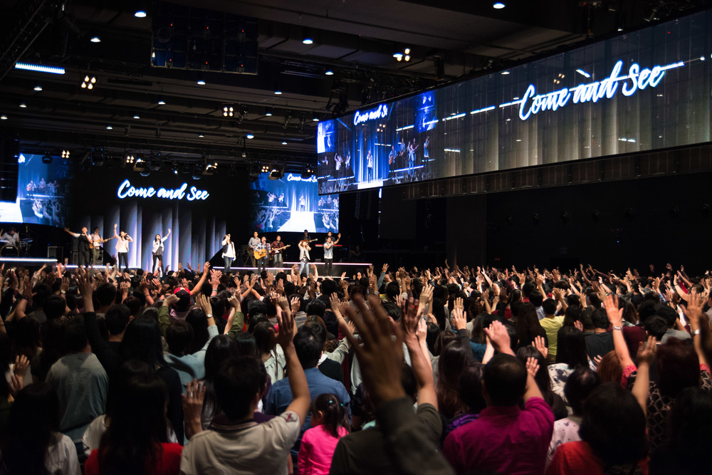 Worship in Heart of God Church