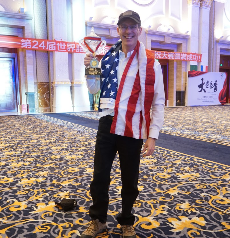 Brad Zupp with Team USA Trophy 3