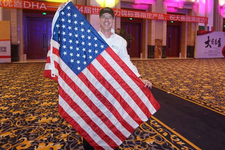 Zupp with USA Flag WorldMemoryChampionships2015ChengduChinaweb.jpg