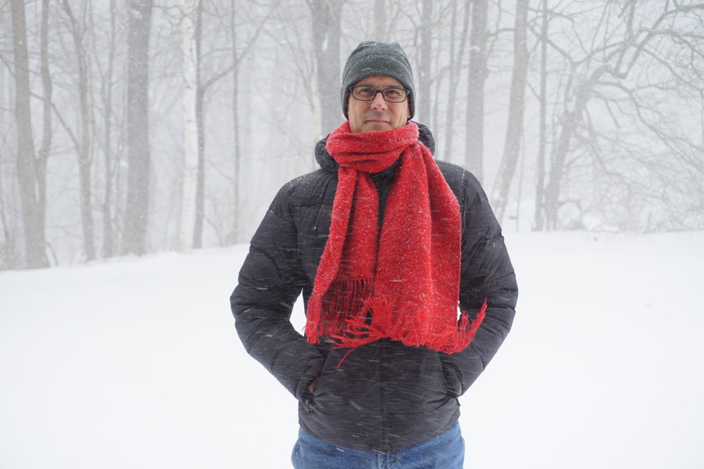 Brad Zupp recalls Pi at his home outside Greenwich, NY.