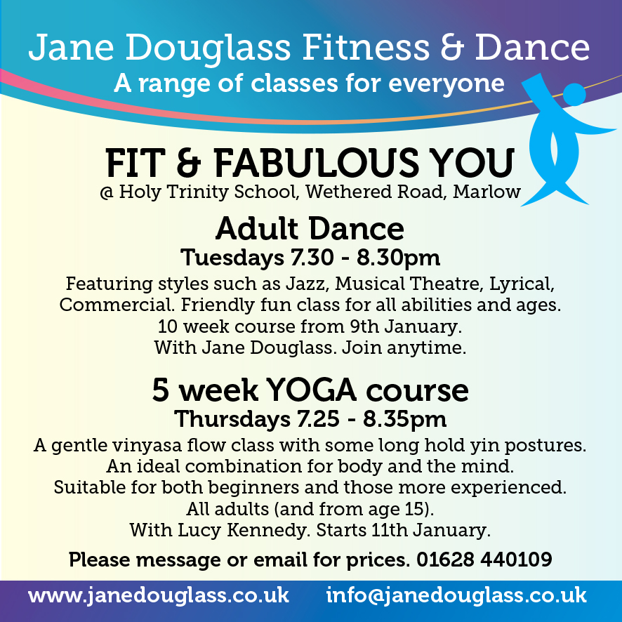 Dance yourself fit and strengthen and relax with Yoga