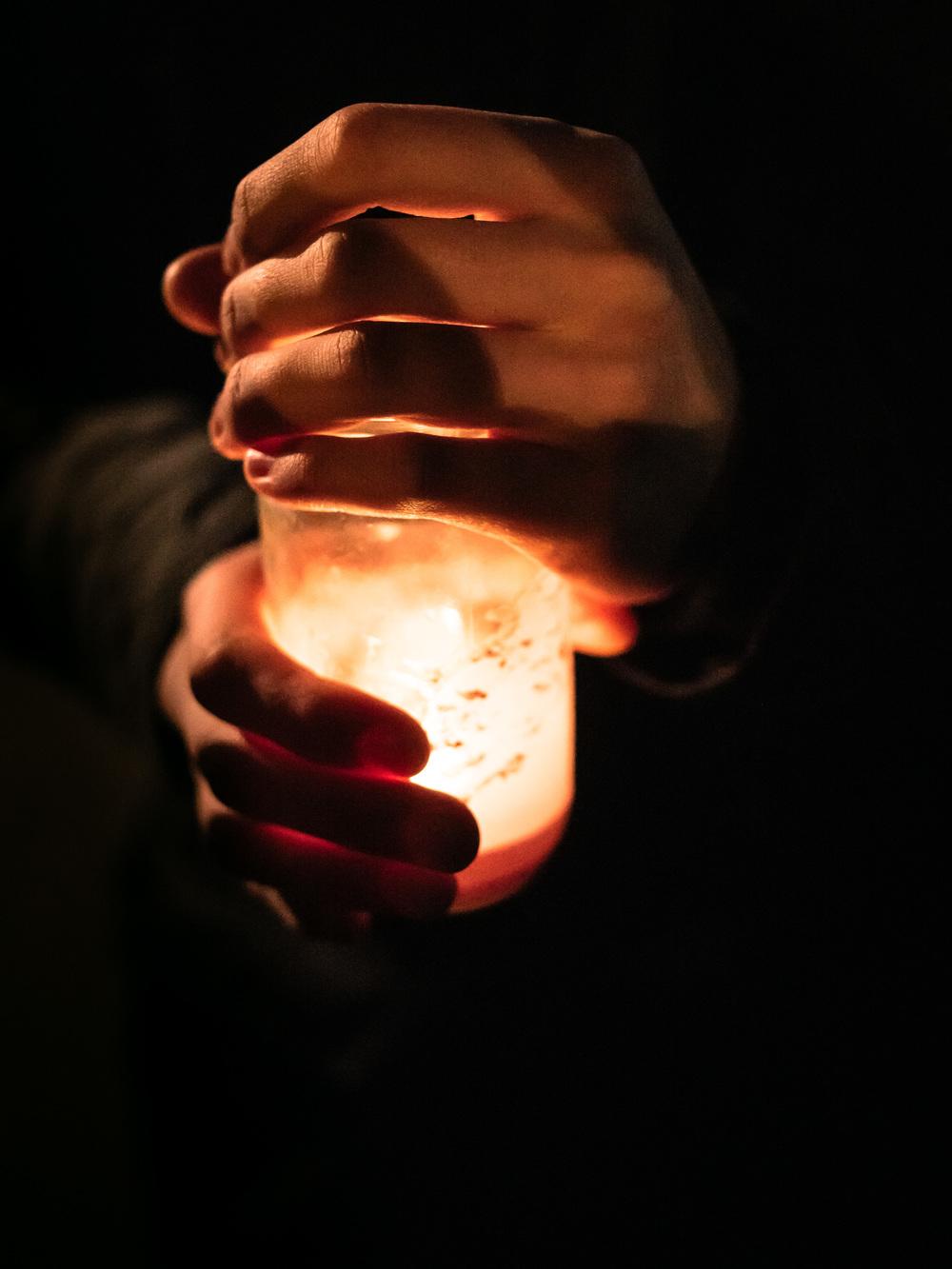 Refugee Candlelight Vigil // SCM