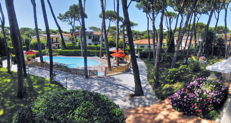 Our favourite hotel, the Hotel le Pleiadi in Forte dei Marmi