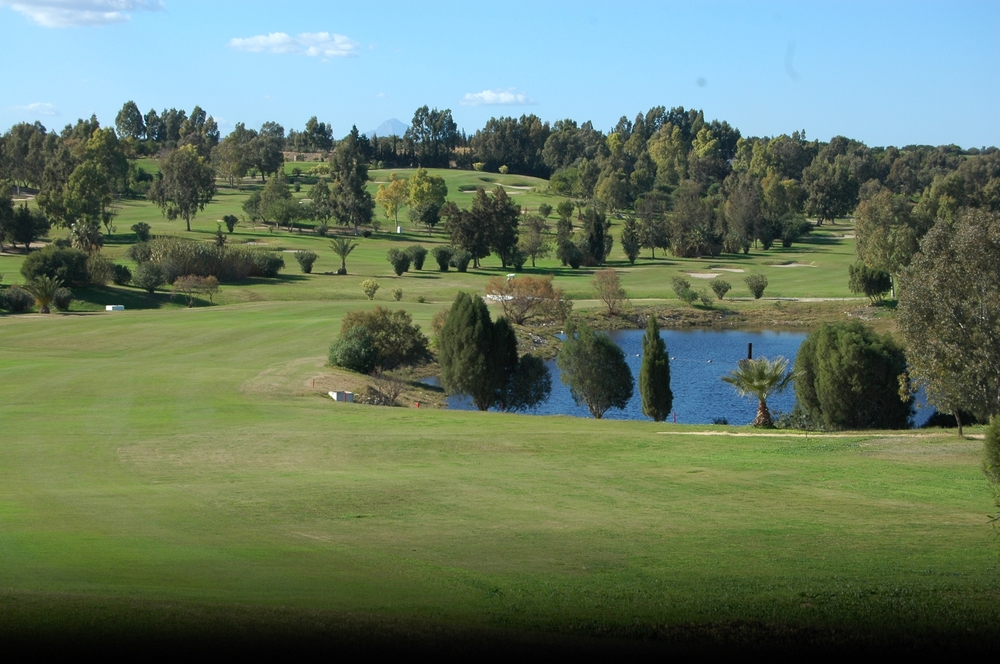 The golf course at the Hammamet Yasmine