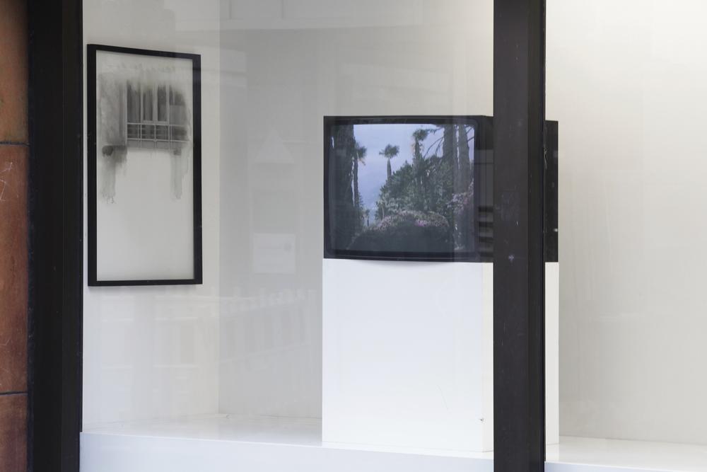 Installation view Fifth Wall,Kunstverein für die Rheinlande und Westfalen 2012