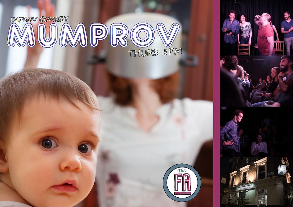 comedy, improv, london, mumprov, mums,