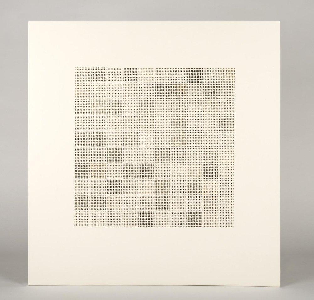 Sue Lawty '10,000 stones II' (2016)