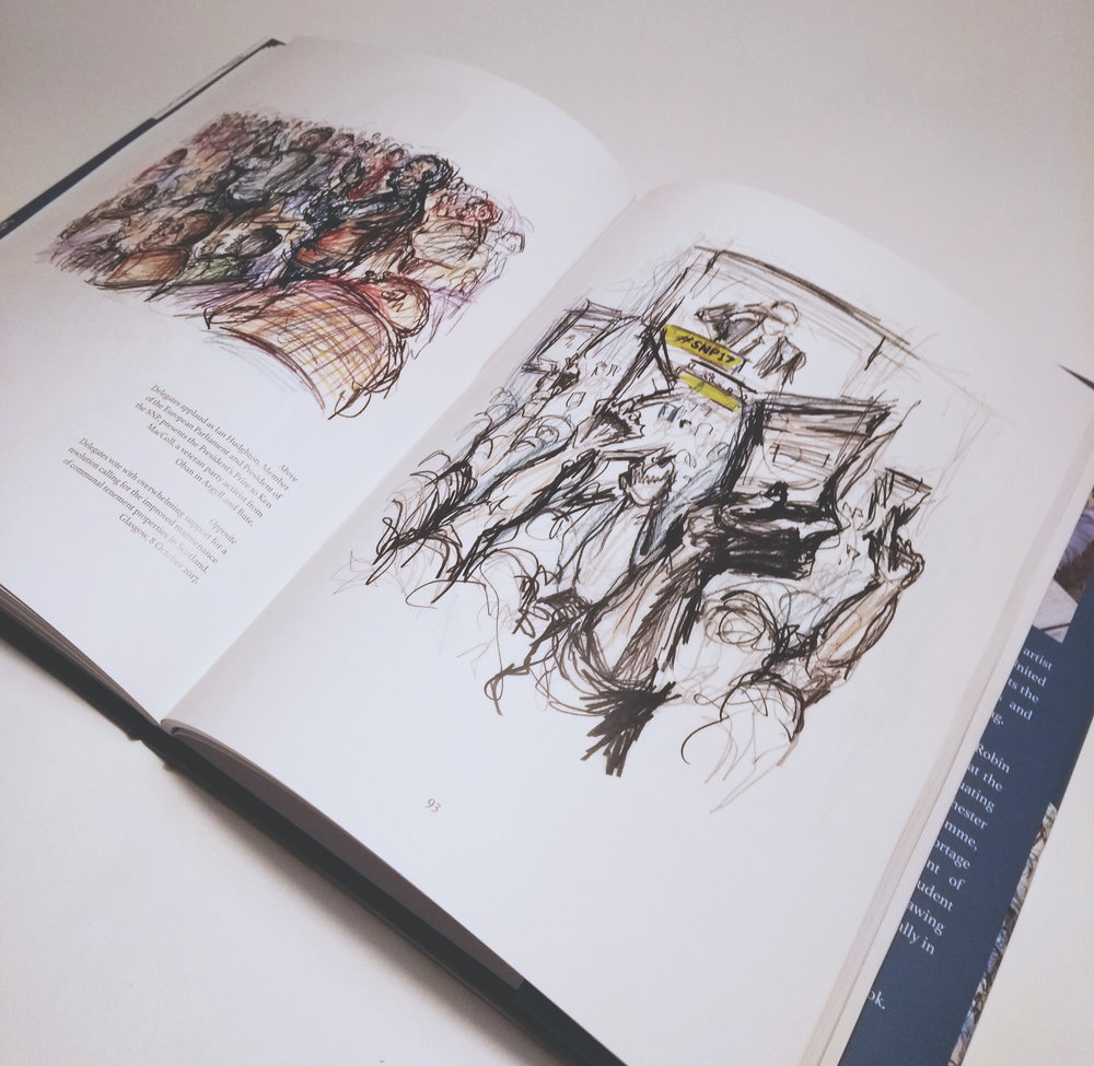 Drawing Democracy  by Robin Sukatorn (2018)