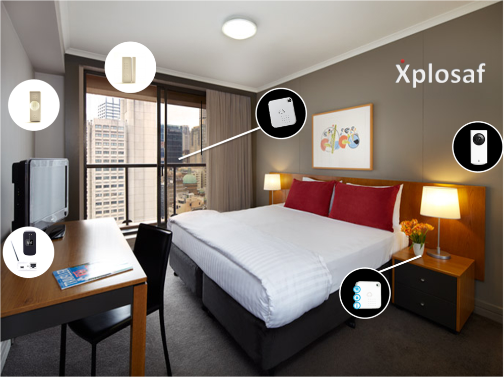 THE EXPATRIATE OR SHORT BUSINESS STAY  - SMART CAM | WIRELESS HUB | INFRARED SENSOR | WINDOW SENSOR